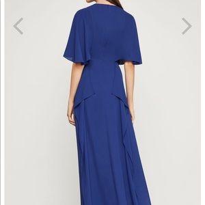 fab51f237b BCBGMaxAzria Dresses - Cape Sleeve Maxi Dress In GRAPE 🍇 ROYAL color